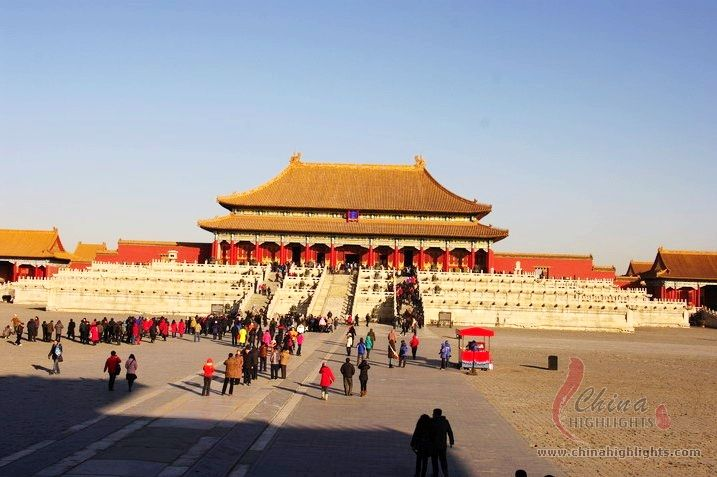 Taihe Palace, The Imperial Palace
