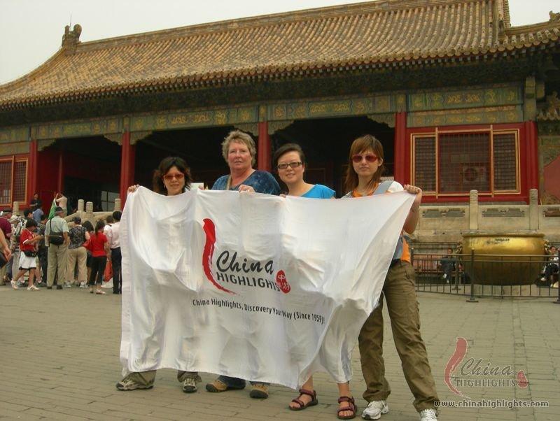 China Highlights in Forbidden City