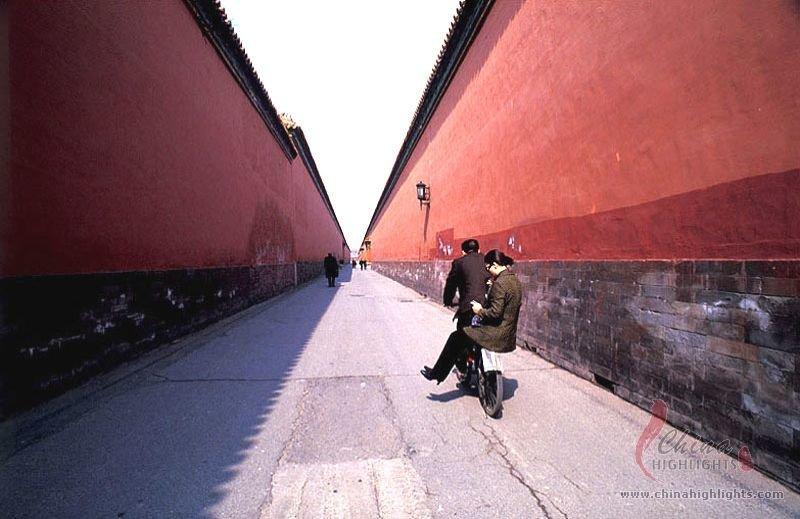A Lane in Forbidden City