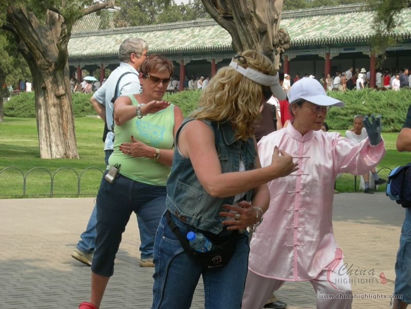 Tai Chi at the Temple of Heven