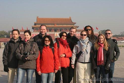 Tian'an men Square