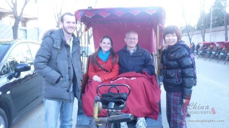 Hutong Tour in Rickshaw
