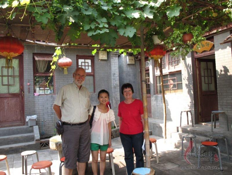 Hutong Family Visit